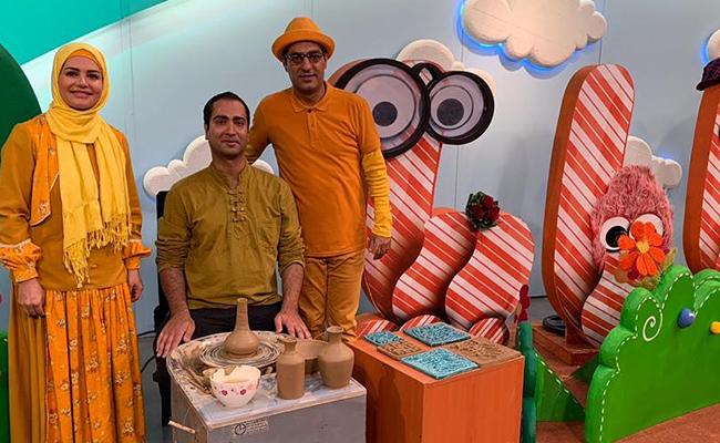 آقای عالم رجب در برنامه کودک