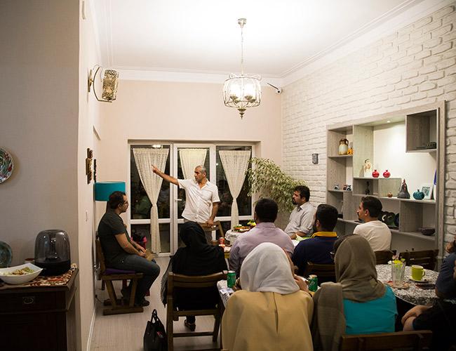 آرش نورآقایی در دوشنبه های گردشگری
