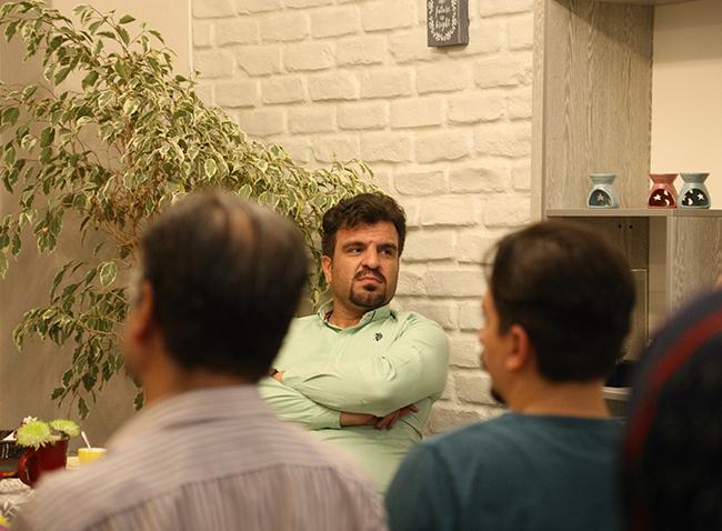 علی شادلو در آنسو