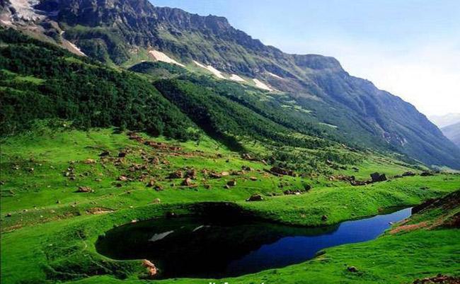 دریاچه آنسو پاکستان