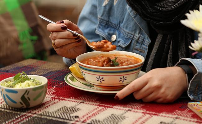 خوراک لوبیای آنسو